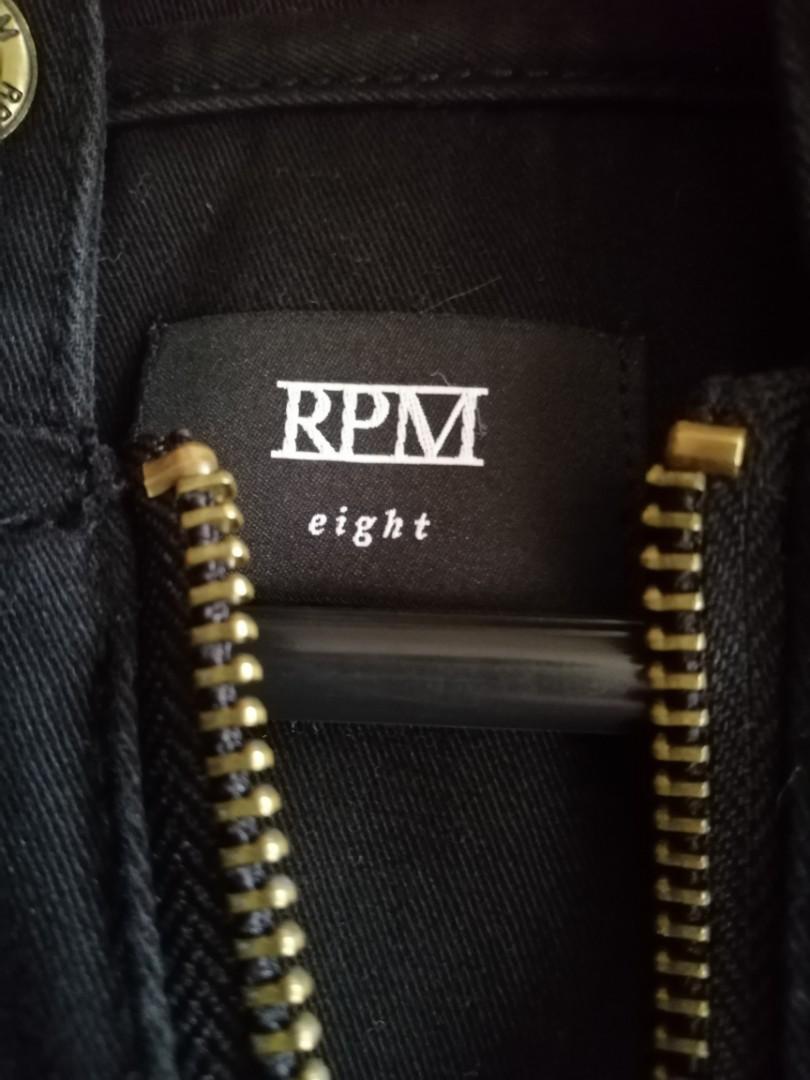 Black RPM Coat