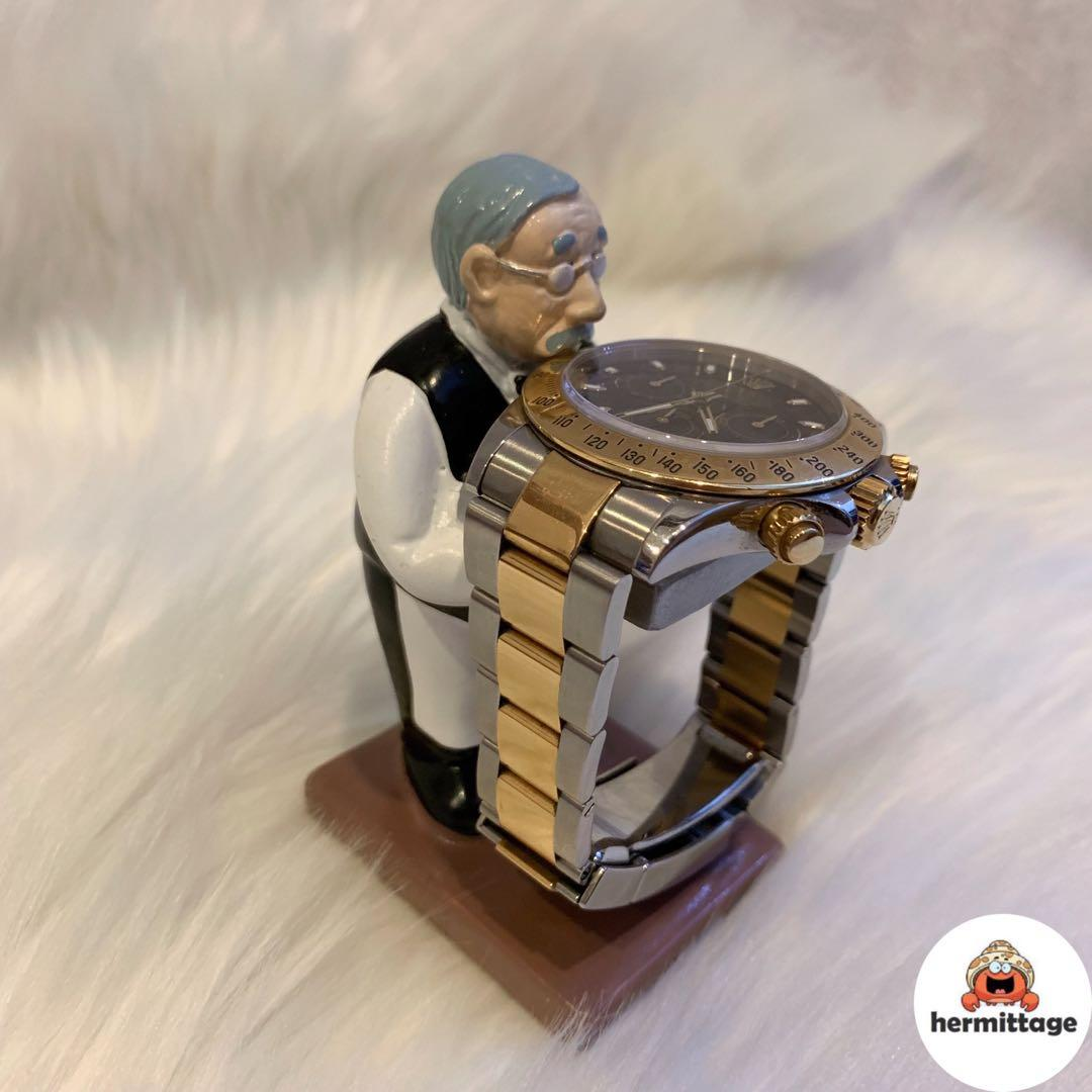 BRAND NEW BUTLER WATCH STAND (suitable for rolex, audemars piguet, hublot, omega, tudor, tag heuer, seiko, cartier, iwc, hamilton etc)