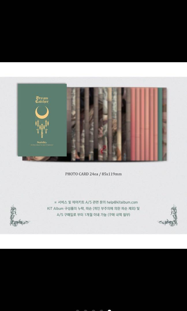 Dream Catcher 4rd Mini Album [The End of Nightmare]