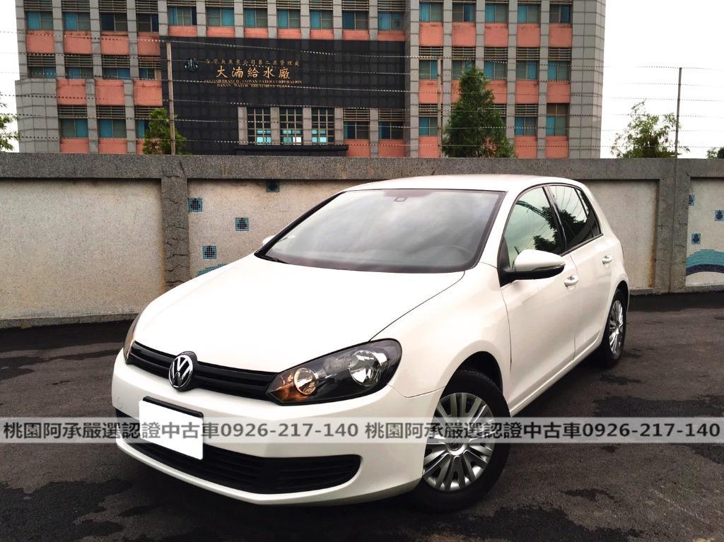【FB搜尋桃園阿承】福斯 超人氣GOLF 2012年 1.6CC 白色 二手車 中古車