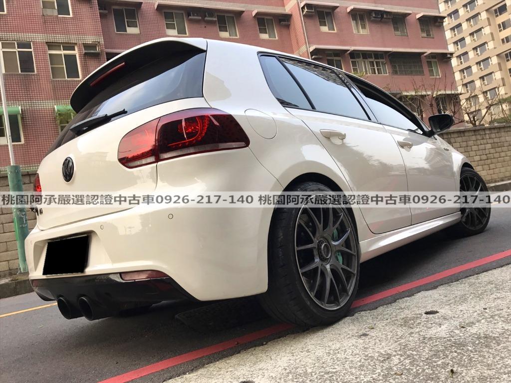 【FB搜尋桃園阿承】福斯 超人氣GTI 2012年 2.0CC 白色 二手車 中古車