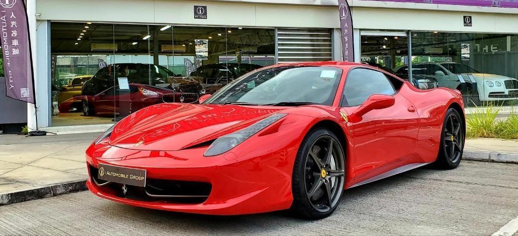 Ferrari 458 4.5 Italia (A)