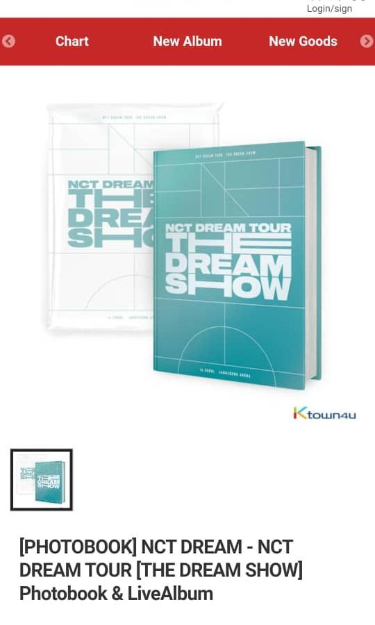 [FREE SHIPPING]  NCT DREAM THE DREAM SHOW IN SEOUL DVD + LIVE CD