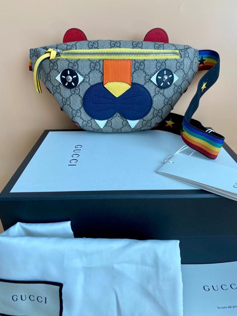 """Gucci Kids - 🔥FIRE SALE🔥 - """"RARE & EXCLUSIVE"""" - Special Price - GG Supreme Monster/Tiger - Bum Bag/Waist Bag"""
