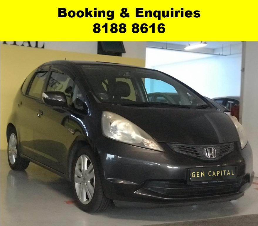 Honda Jazz EARLY PROMO! *AFTER CIRCUIT BREAKER* ADVANCE BOOKING ONLY, Lalamove/Grabfood/Parcel/PHV Delivery Ready with just $500 deposit driveaway. Whatsapp 8188 8616 now to enjoy special rates!!