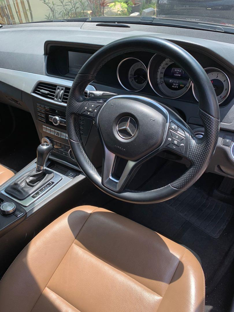Mercedes diesel c200 AMG Bodykit for cheap lease promotion
