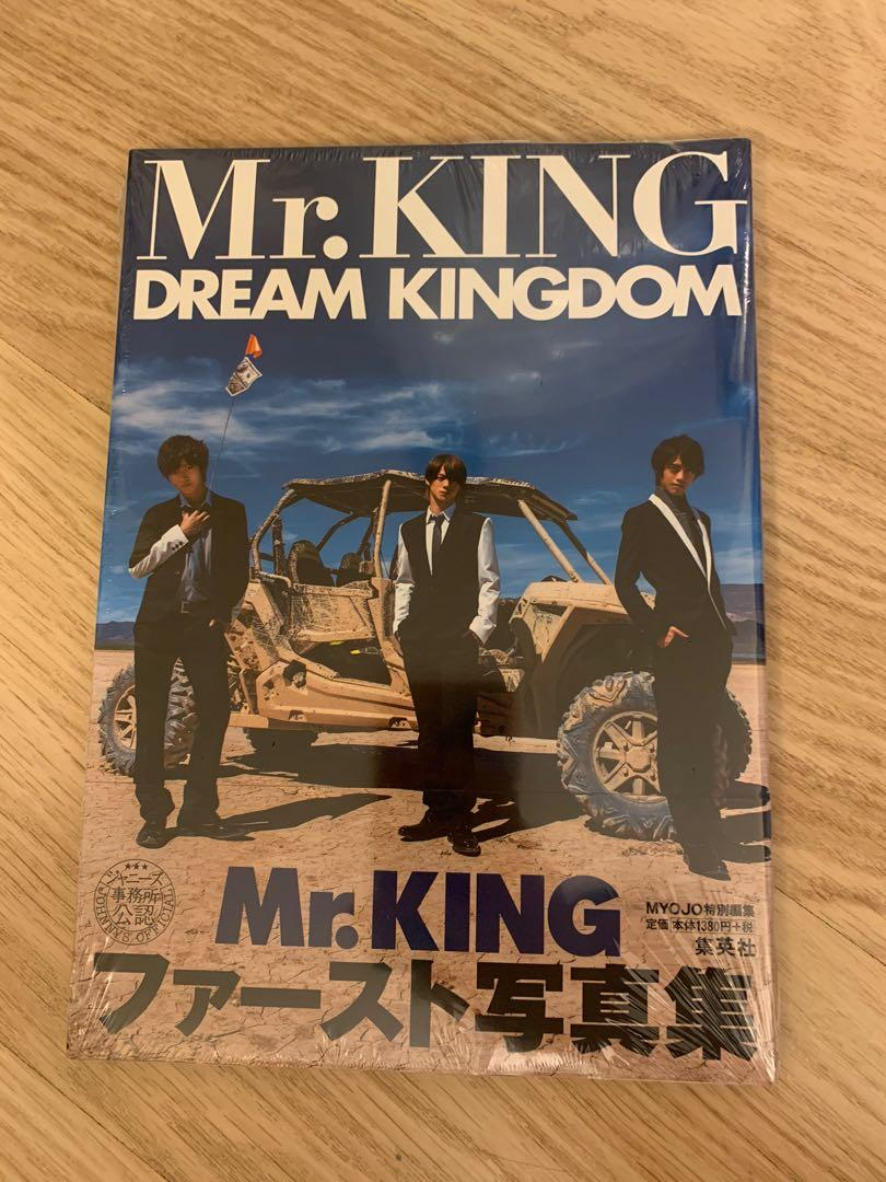 Mr. KING 1st寫真集 Dream Kingdom