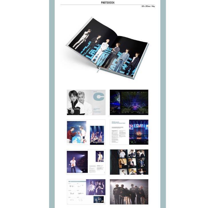 """NCT DREAM TOUR """"THE DREAM SHOW"""" PHOTOBOOK & LIVE ALBUM"""