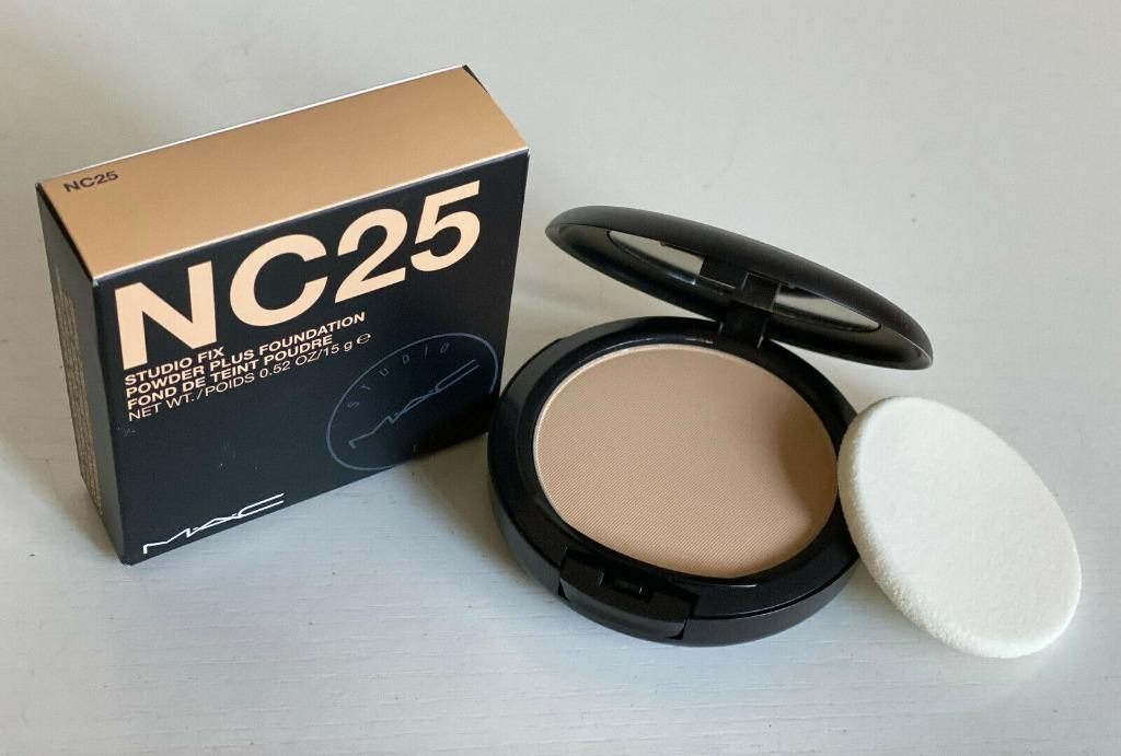 New Authentic Mac Studio Fix Face Powder Plus Foundation Nc25 Health Beauty Makeup On Carousell