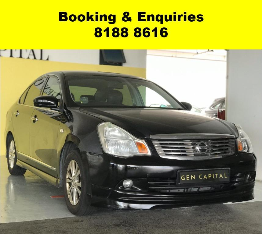 Nissan Sylphy EARLY PROMO! *AFTER CIRCUIT BREAKER* ADVANCE BOOKING ONLY, Lalamove/Grabfood/Parcel/PHV Delivery Ready with just $500 deposit driveaway. Whatsapp 8188 8616 now to enjoy special rates!!