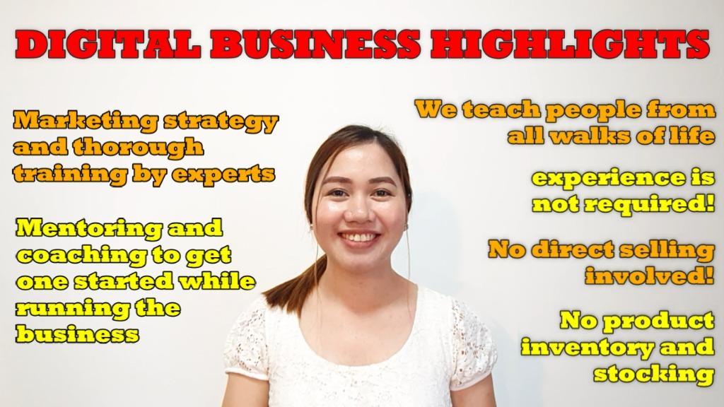 Online digital business