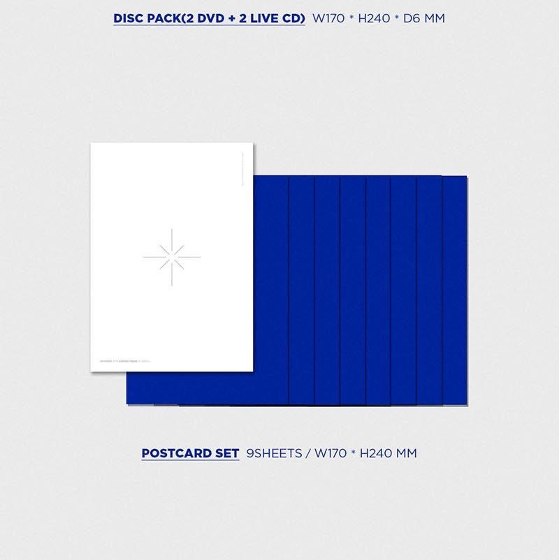 "[PREORDER] WINNER 2019 CROSS TOUR IN SEOUL ""DVD + LIVE CD"""