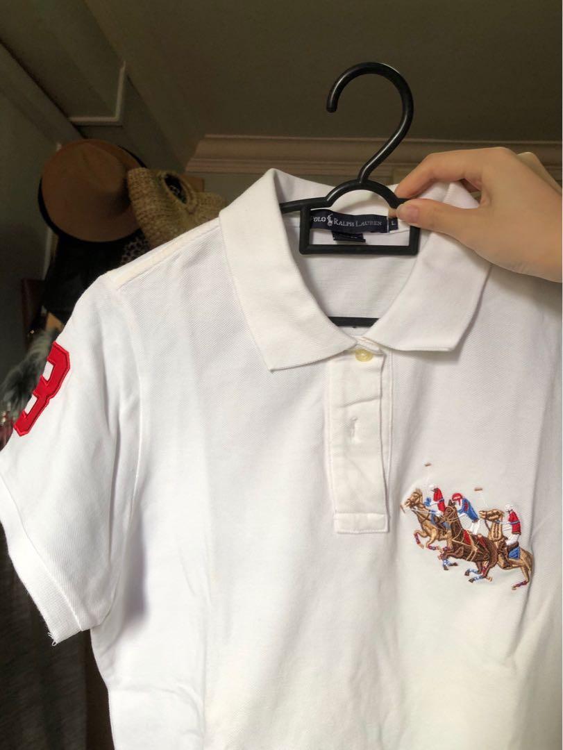 Ralph Lauren Polo Tee Horseback Riding Embroidery Logo Men S Fashion Clothes Tops On Carousell