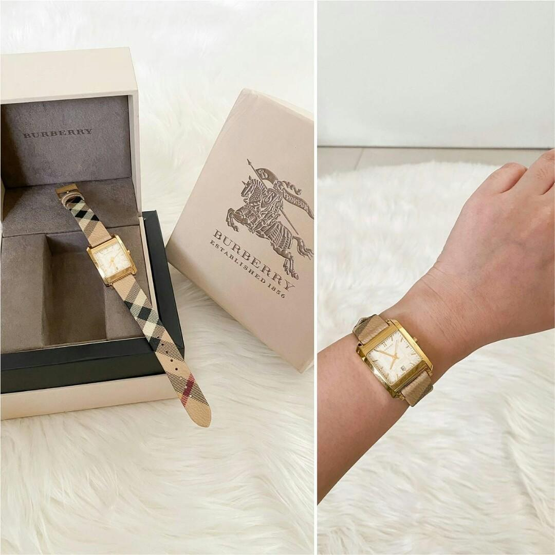 Ready Rarely Used Burberry BU1582 GHW complete with box (bantal nya hilang)  6.400.000