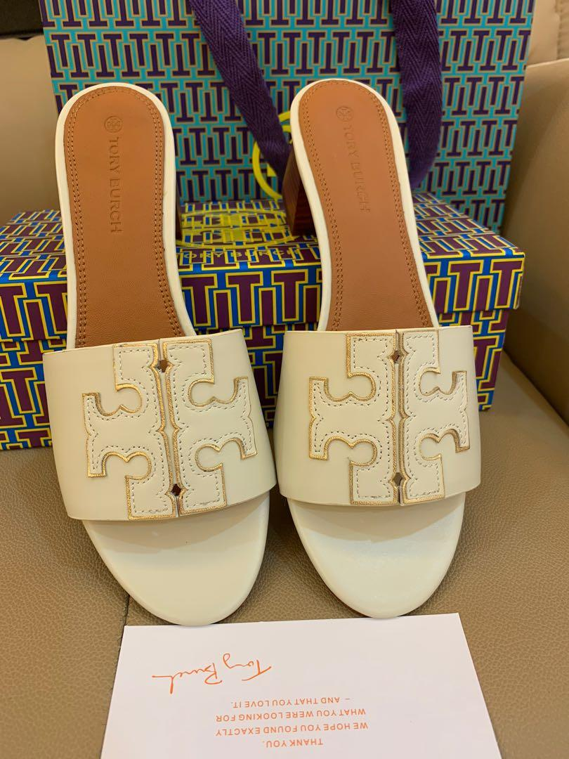 Ready Stock Authentic Tory Burch women high heels shoes flats shoes size US 8.5