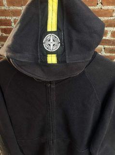 Stone Island sweatershirt hooded jacket