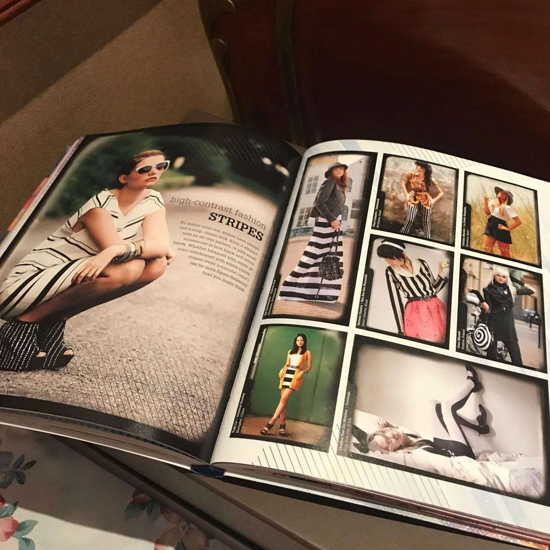 STYLE YOURSELF BOOK (Hardbound Full Glossy Pages Heavy Book) (keywords: Fashion Design Style Zara Lacoste Books)