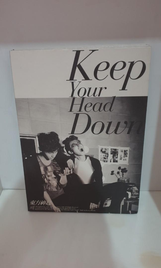 TVXQ - Kee Your Head Down (Special Version) (First Press Limited Edition)