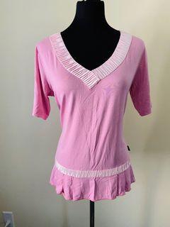 Vango Paris baby pink top size S/M
