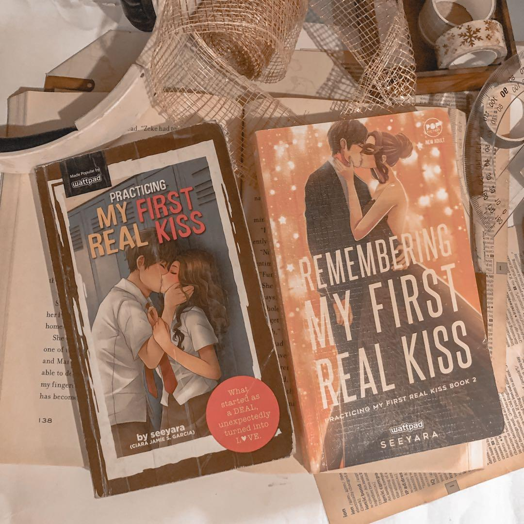 Wattpad Books Bundle - Practicing My First Real Kiss, Remembering My First Real Kiss