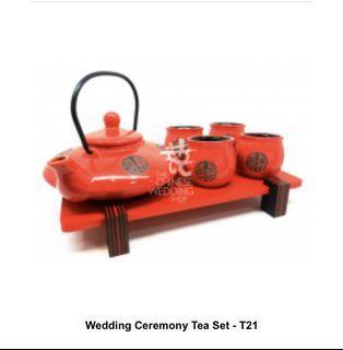 Wedding Ceremony Tea Set