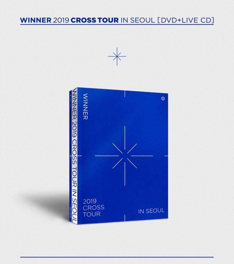 🌺WINNER🌺WINNER 2019 CROSS TOUR IN SEOUL [ DVD+LIVE CD ]