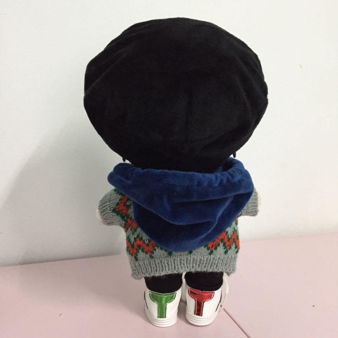 Xiao Zhan (Sean Xiao) 20 cm Idol Doll+6 extra clothes 肖战20cm偶像娃娃人偶+6服装 (陈情令魔道祖师魏无羡 The Untamed Mo Dao Zu Shi Wei WuXian)