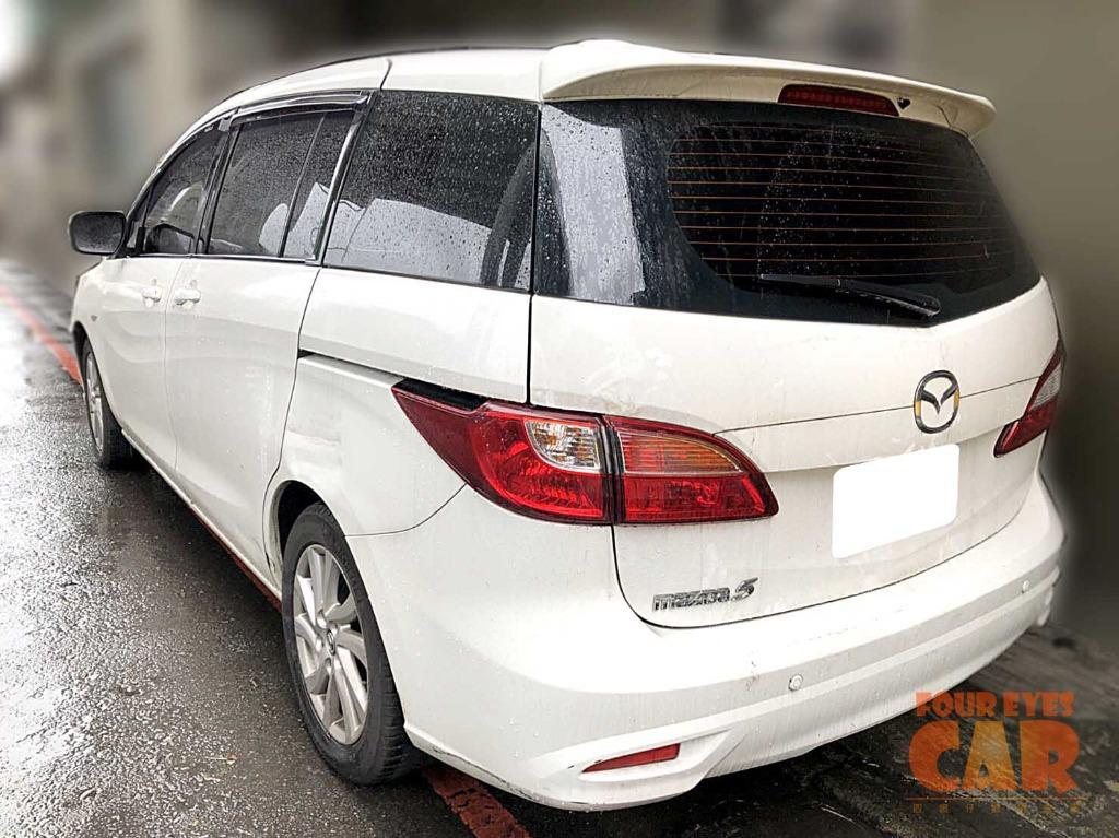 2014年 MAZDA5 豪華7人座 - 四眼仔歡樂車庫