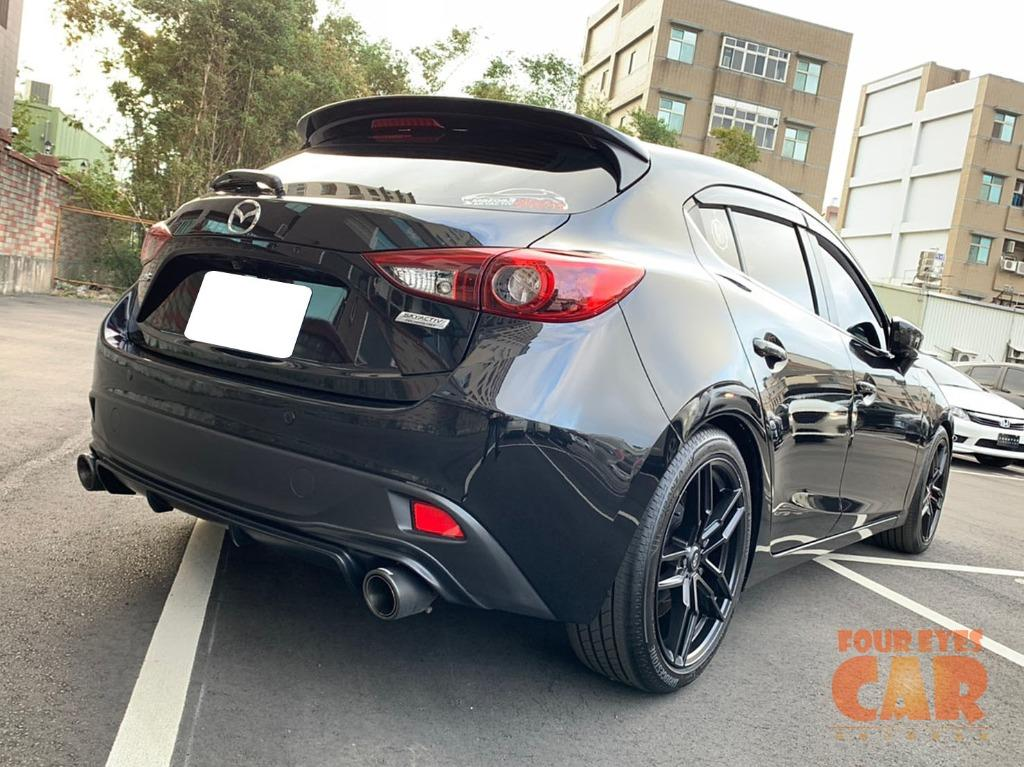 2015年 馬自達 魂動MAZDA3 5D 頂級版 - 四眼仔歡樂車庫