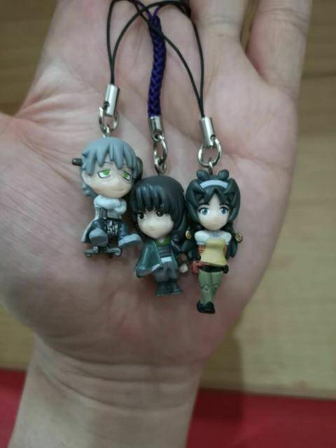 5/3pcs Bandai Namco Characters capsule series mobile strip japan