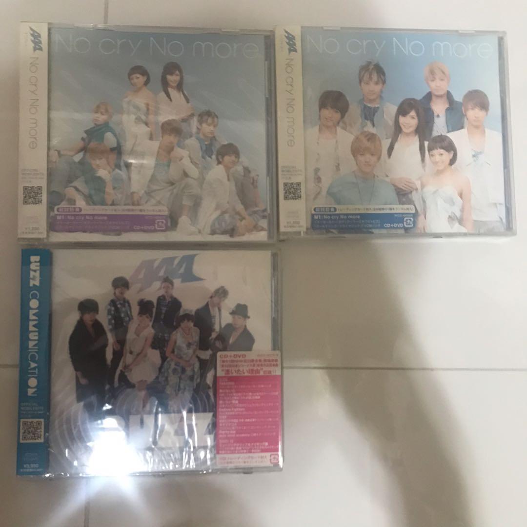 全新 AAA CD 日本版