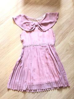 免熨成人粉紅返工裙 wrinkle resistant Adult Pink Dress