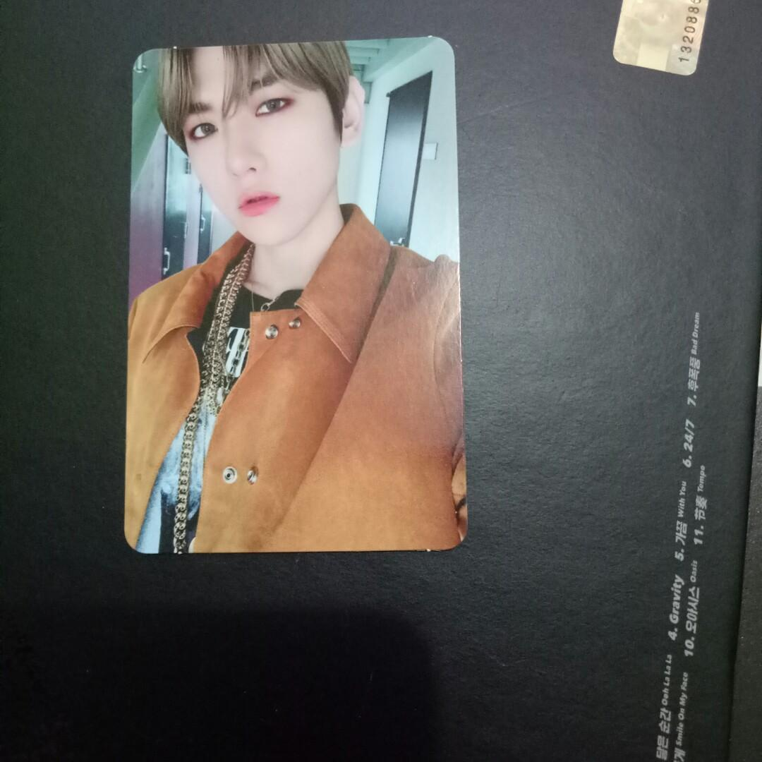 Album EXO Don't Mess Up My Tempo  BAEKHYUN PC  + Xiumin Postcard