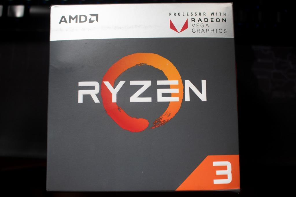 Amd Ryzen 3 2200g With Radeon Vega 8 Graphics Wraith Stealth Cooler Fan All In Processor Cpu Electronics Computer Parts Accessories On Carousell