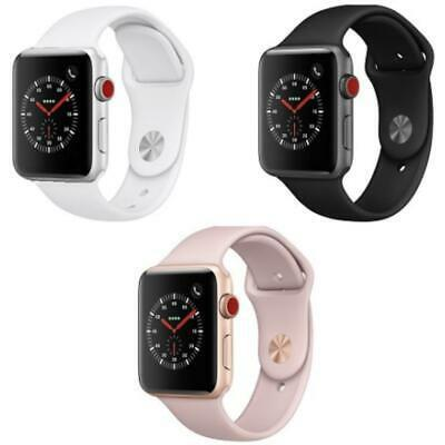 Apple Watch Series 3 - 38MM / 42MM - Aluminum - Sport Band (GPS + Cellular Data)