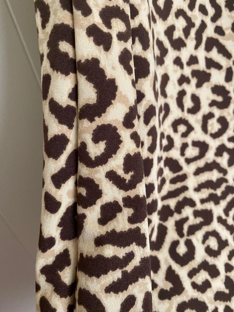 Bodycon Dress Cheetah Leopard print