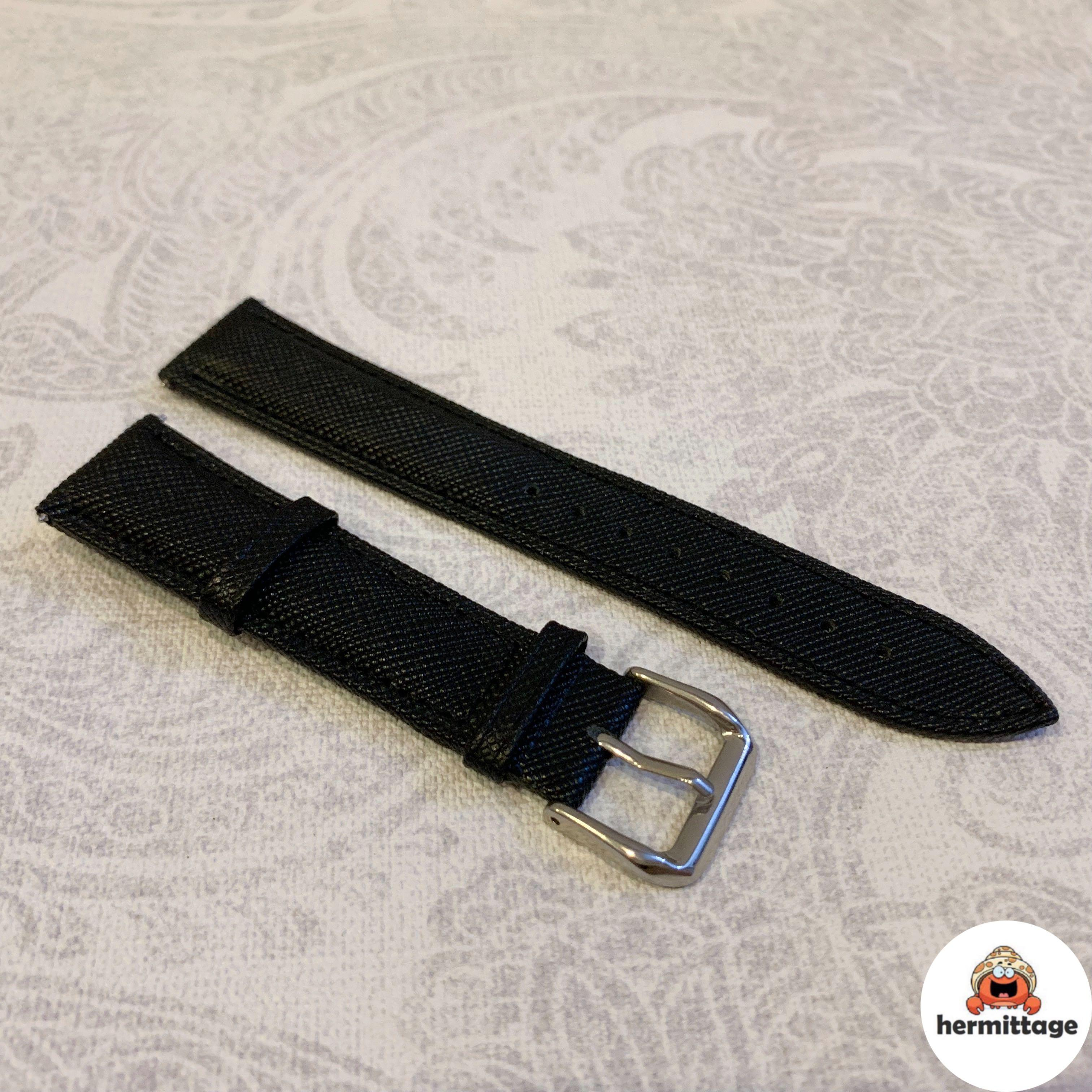 BRAND NEW 20MM SAFFIANO LEATHER STRAP (suitable for all watches with 20mm lug width. eg. rolex tudor tag heuer seiko iwc hamilton omega zenith cartier etc)