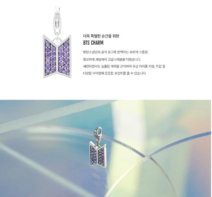 BTS STONE HENGE MOMENT OF LIGHT Necklace+BTS CHARM SET BIRTH Ver