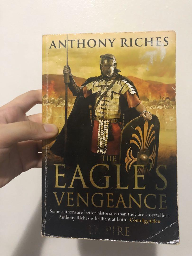 Cheap Historical Fiction Novels (Revenger by Rory Clements and The Eagle's Vengeance by Anthony Riches)