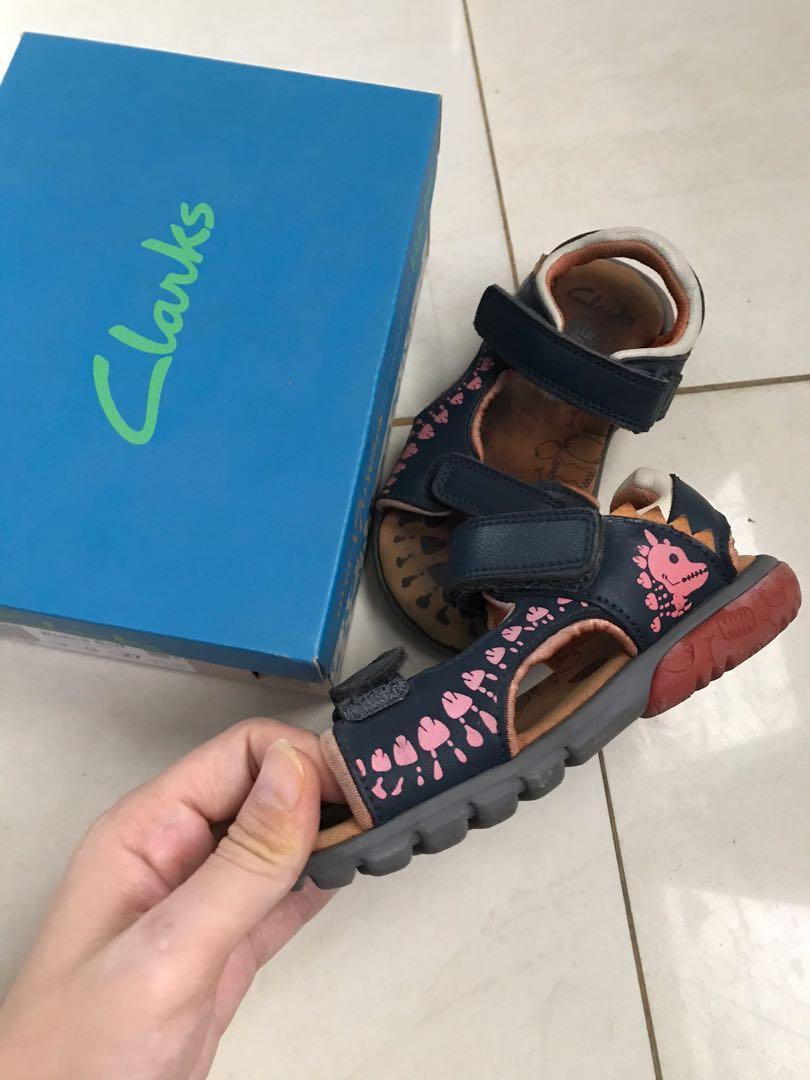 Clarks sandal kids (leather), Babies