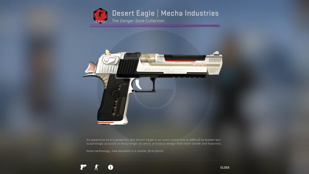 CSGO Desert Eagle | Mecha Industries (Minimal Wear) _csgo skins _csgo deagle skin, Toys & Games, Video Gaming, In-Game Products on Carousell