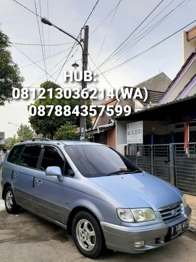 Dijual Hyundai Trajet XG 2.0 Manual Cvvt Gl8 Full Ori Sangat Istimewa