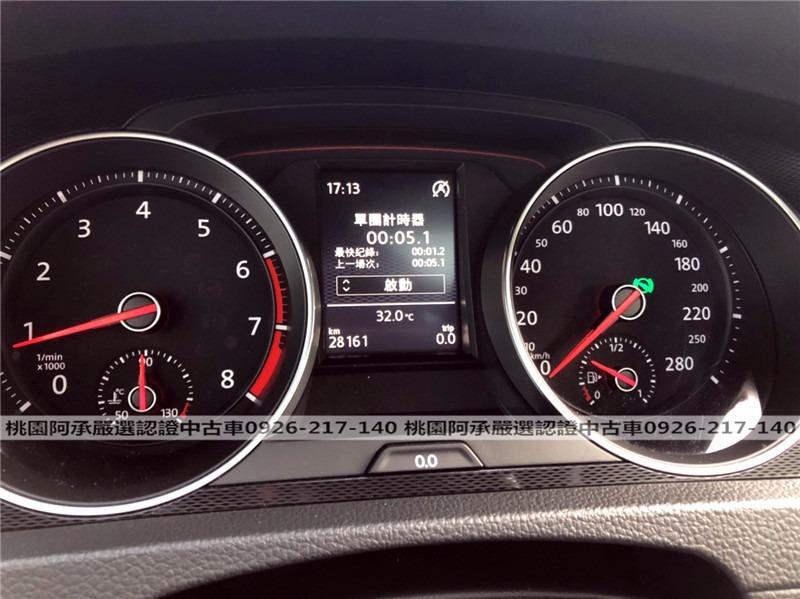 【FB搜尋桃園阿承】福斯 超人氣GTI 2016年 2.0CC 白色 二手車 中古車