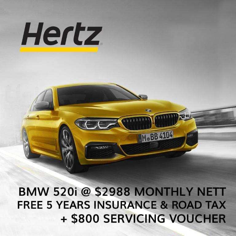 FREE 5 years insurance and Road Tax + $800 Servicing voucher