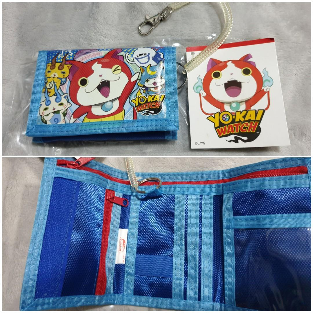 FREE Bless new The Incredible Wallet with purchased of new Yokai Watch Wallet with tag $12 😊 New. Authentic Yokai Watch kids wallet with many compartments for ezlink cards, money notes and coins with zip compartment (more safer so won't drop)