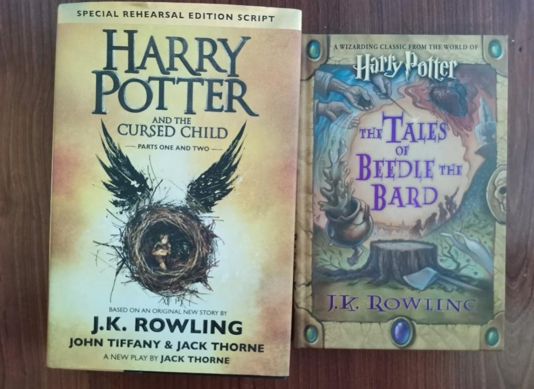 Harry Potter and The Cursed Child Book and Tales of Beedle the Bard by J. K Rowling (Hard Bound)