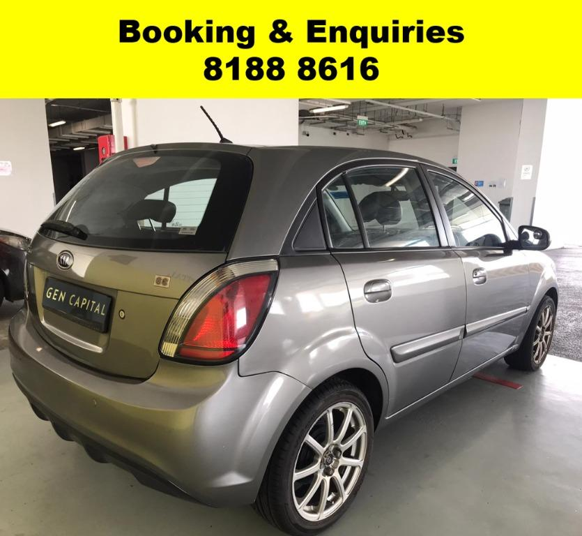 Kia Rio LAST WEEK CIRCUIT BREAKER PROMO! FULLY SANITISED AND GROOMED! $500 DEPOSIT DRIVEAWAY. WHATSAPP 8188 8616 NOW TO RESERVE A CAR TODAY!
