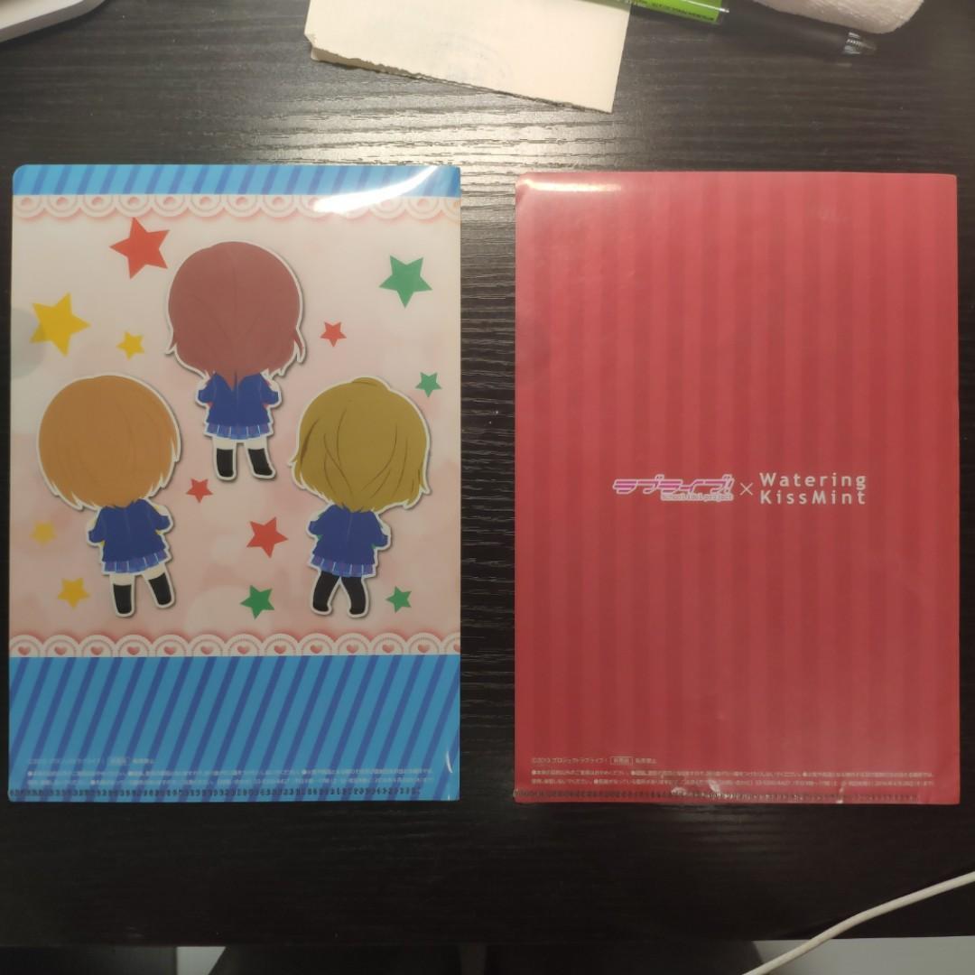 lovelive file 合作香口膠 真姫+一年生款