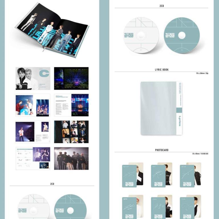 NCT DREAM TOUR [THE DREAM SHOW]  Photobook & LiveAlbum