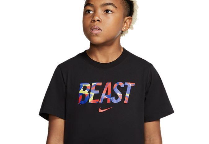 Nike Boys' Beast Dry Short Sleeve Top